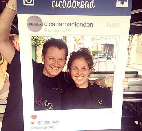 Dan and Steph Ley Co-founders of ChilliDogs