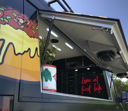 Hot Dog food van