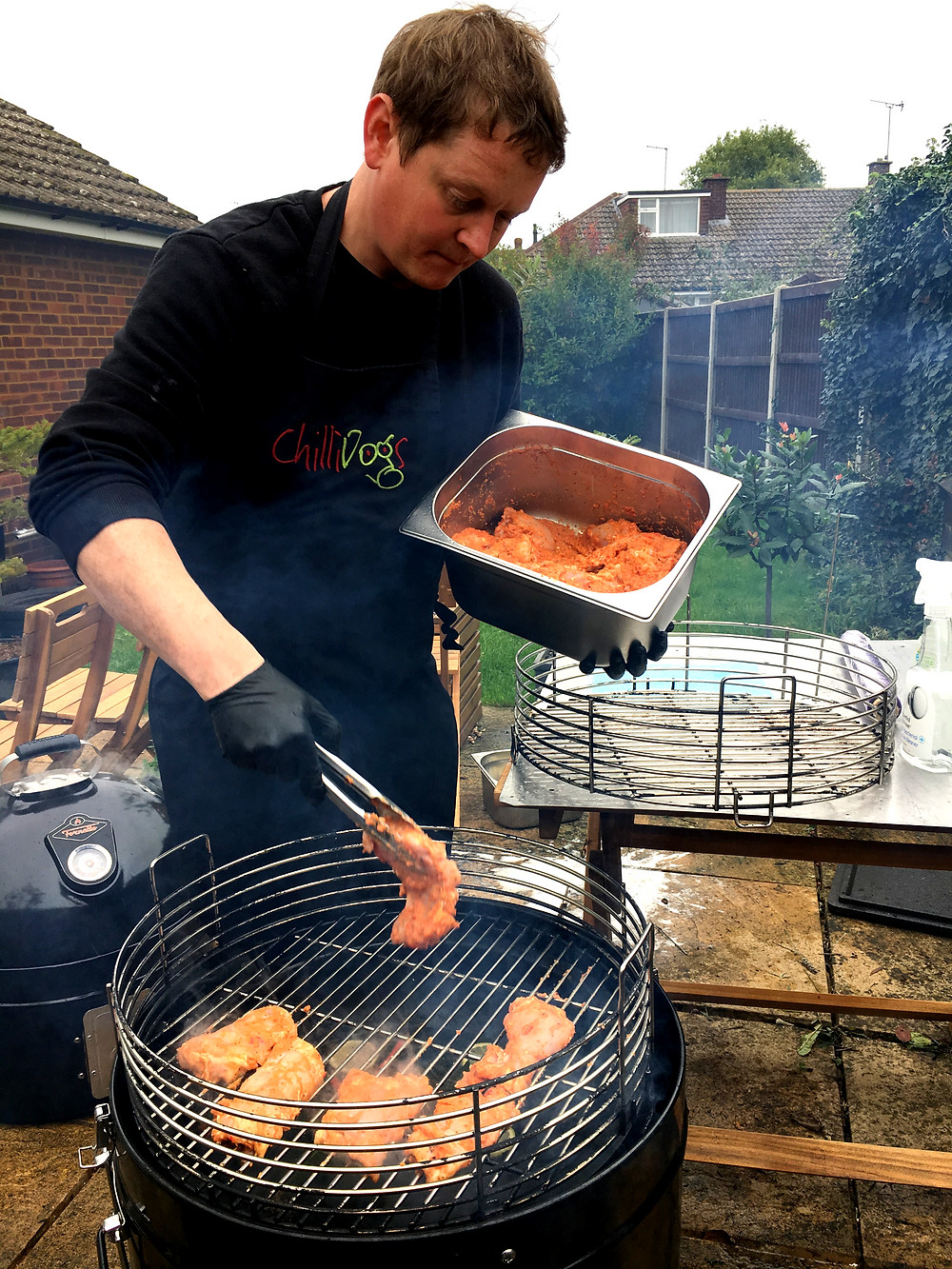 BBQ chef, garden Oxfordshire for hire