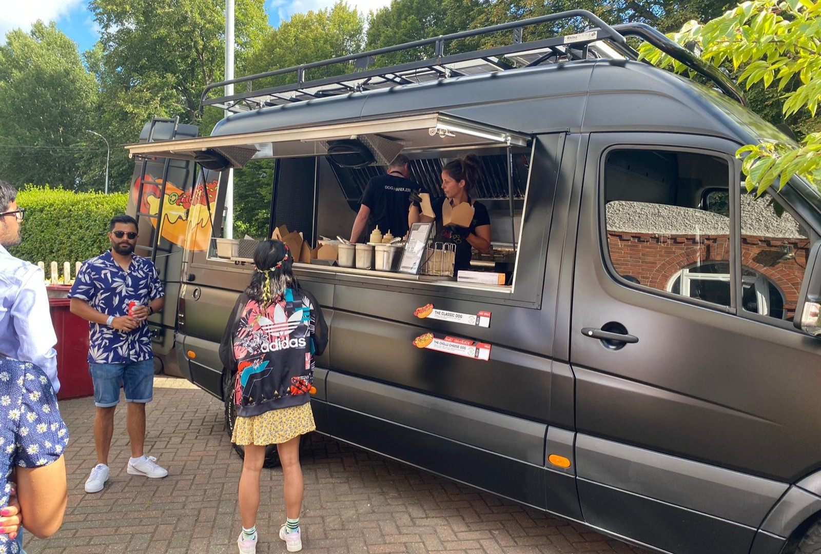 The Best Food Truck at a Cool Party