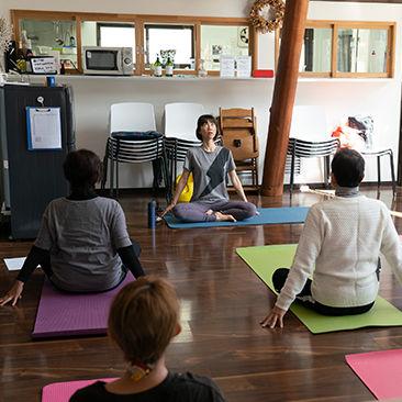 yogaflow 森のオフィスクラス