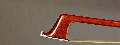 Cello bow head