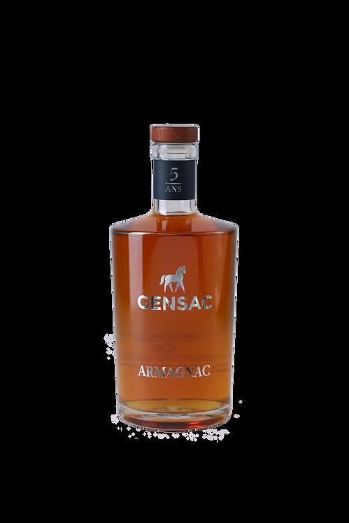 CHÂTEAU DE GENSAC - Armagnac 5 Ans