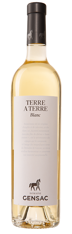 CHÂTEAU DE GENSAC - Terre à Terre Blanc IGP Gers 2019