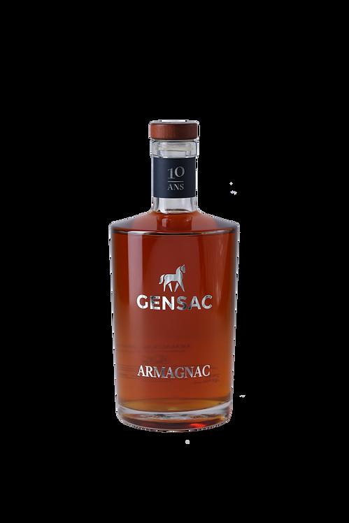 CHÂTEAU DE GENSAC - Armagnac 10 Ans