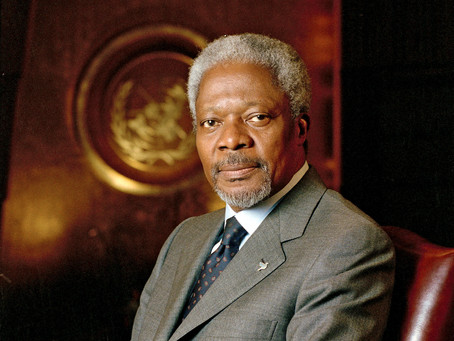 Kofi Annan: The man who inspired a generation to believe in the UN