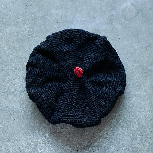 ベレー帽 ブラック