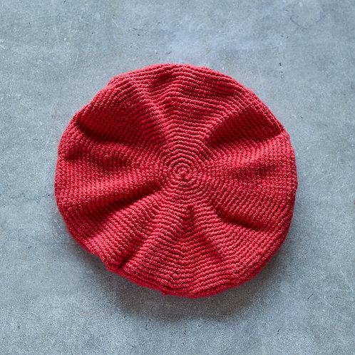 ベレー帽 レッド