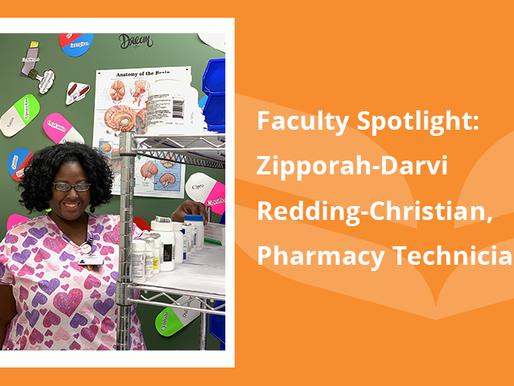 Faculty Spotlight: Zipporah-Darvi Redding-Christian