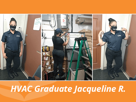 FCC HVAC Graduate Excited for Her New Journey, Following Her Father's Footsteps