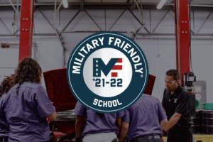 UEI College Earns 2021-2022 Military Friendly® School Designation