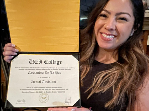 Garden Grove Graduate is 'Overwhelmed with Happiness' by Realizing New Career Goals