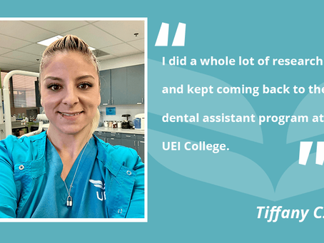 UEI College Student Wants Your Smile to Be Beautiful