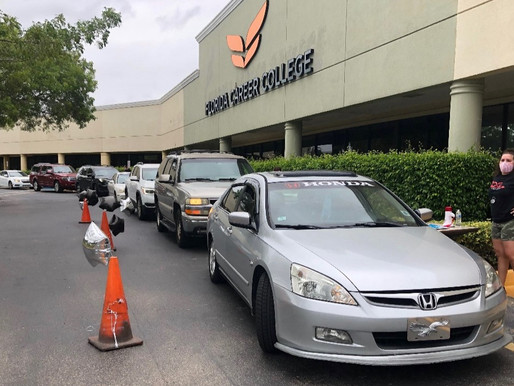 Florida Career College Margate Hosts Drive-Through School Supply Give-Away