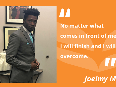 FCC Student Overcomes Obstacles and Inspires Others