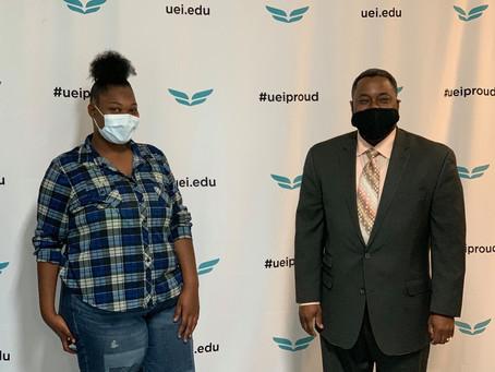 UEI College Announces 'Be the Change' Scholarship Recipient