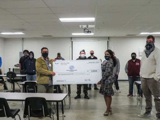 Students in Fresno Win Contest, Make $1000 Donation to Boys & Girls Club