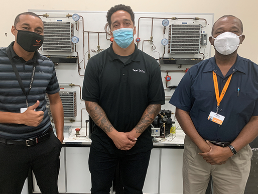 FCC Student Takes His Shot in the HVAC Program, Earns Home Depot Foundation Scholarship