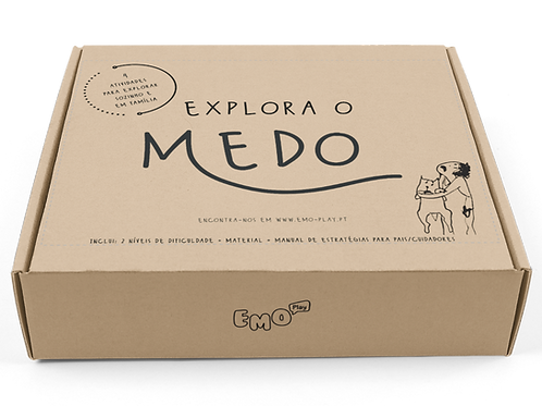"Kit ""Explora o Medo"""