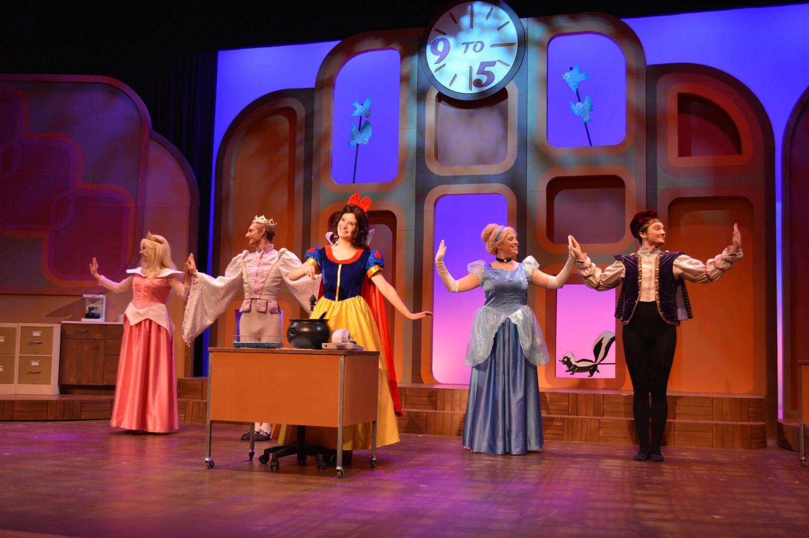 9 to 5 (Cinderella dress) - Millikin University