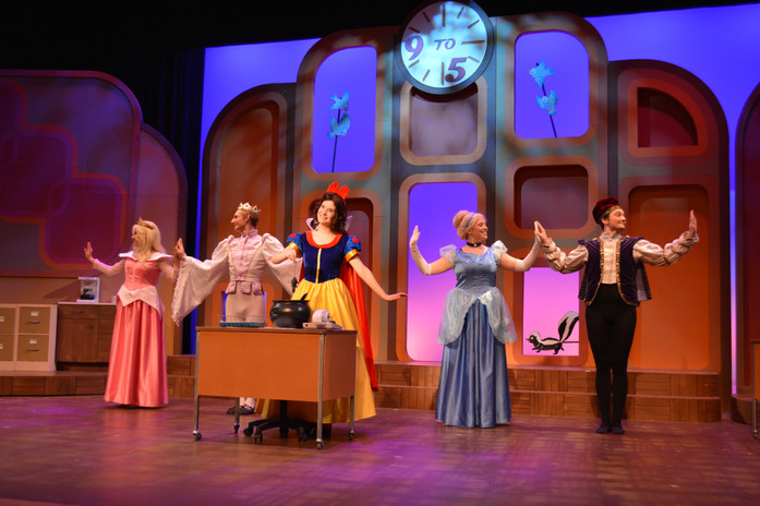9 to 5 (Cinderella dress) - Millikin University
