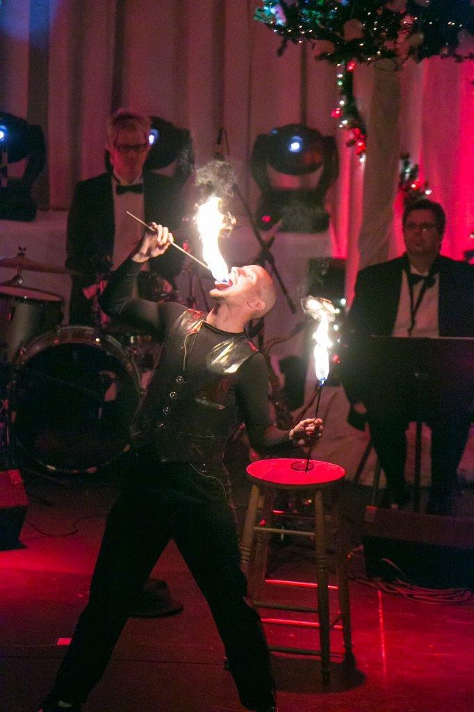 Juggler, Fire-eater & Magician, Vince Vega