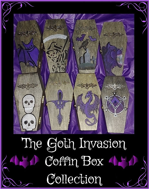 The Goth Invasion Coffin Box Collection