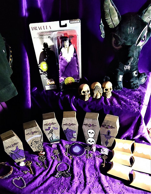 The Goth Invasion Coffin Box Collection Series #1
