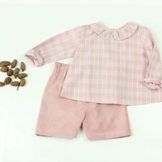 Camicia Petalo rosa