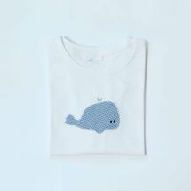 tshirt con balena