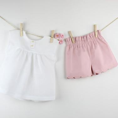 Camicia Lina e calzoncini Gala