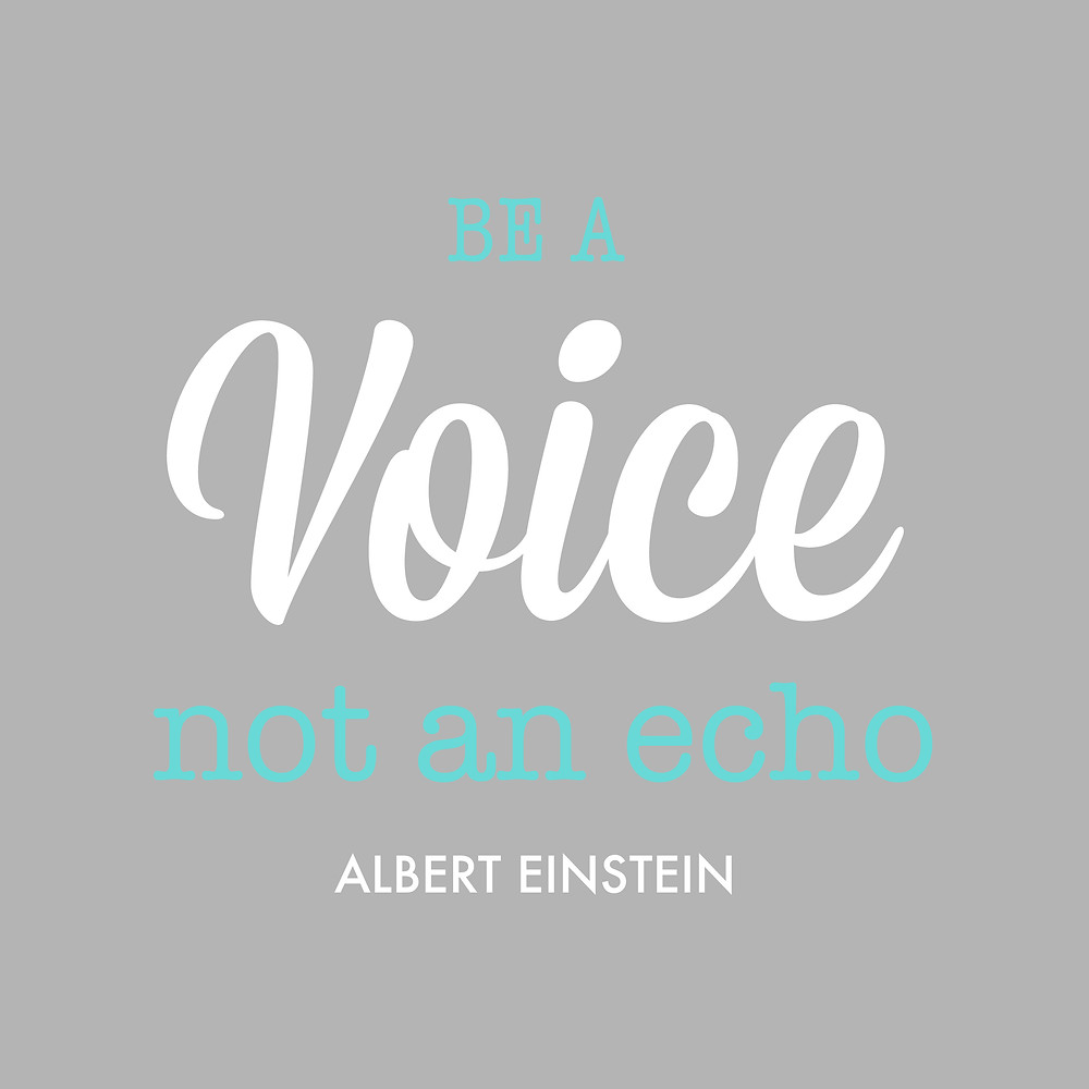 Cultivate your voice and be authentic