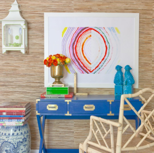Art for a Fun Home Office | Poppsee