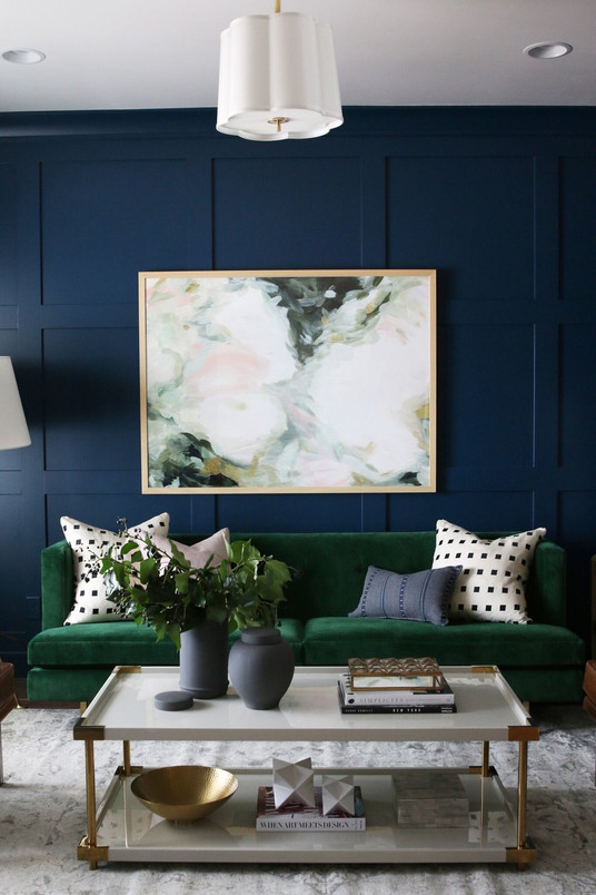 The Artwork In Your Home Doesn't Always Have To Match | Poppsee