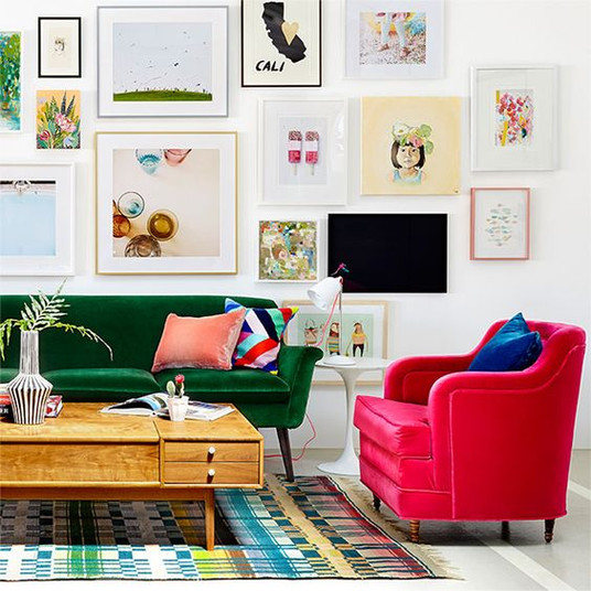 The Best Ways To Frame Wall Art | Poppsee