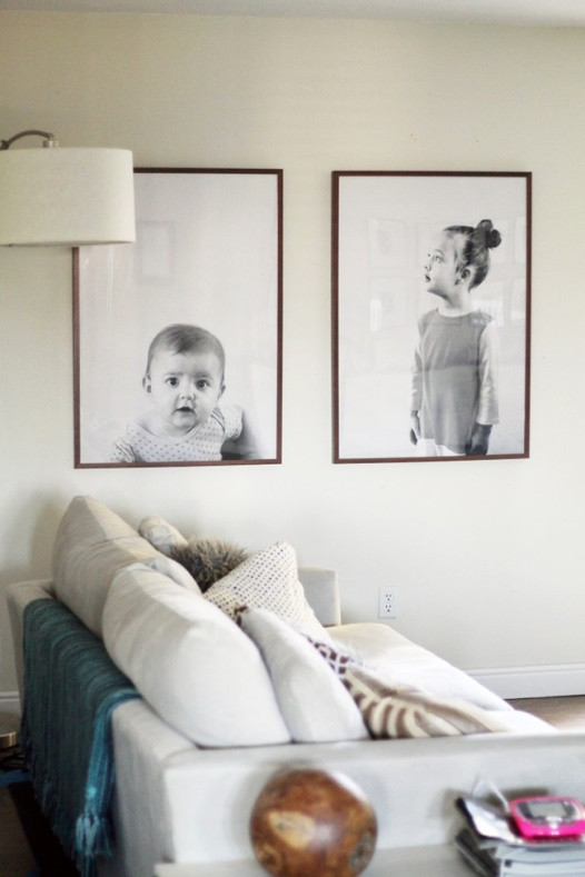 A modern update for framing your family photos | Poppsee