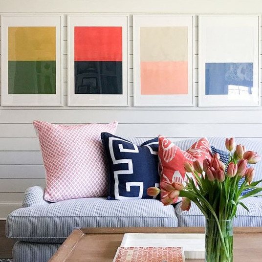 Abstract Color Block | Poppsee