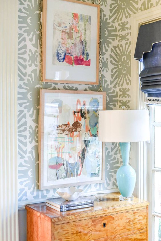 Art & Wallpaper Can be a Great Combination | Poppsee