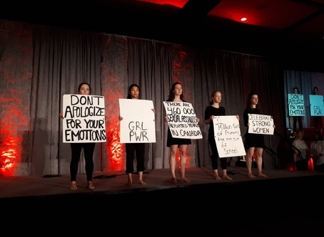 Dancing for Change: The Dandelion Dance Performance Group at Women's Shelters Canada Conference 2018