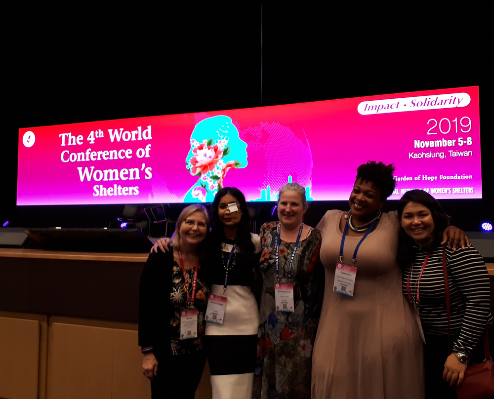 4th World Conference of Women's Shelters in Kaohsiung, Taiwan
