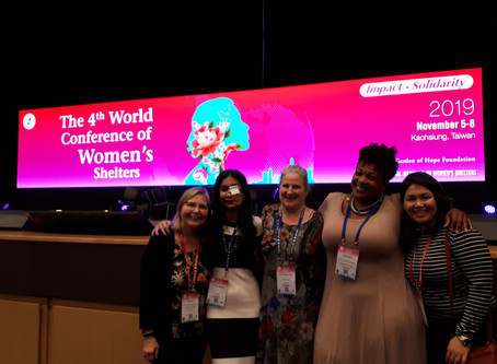 SHADE's Executive Director Attends 4th World Conference of Women's Shelters in Kaohsiung, Taiwan