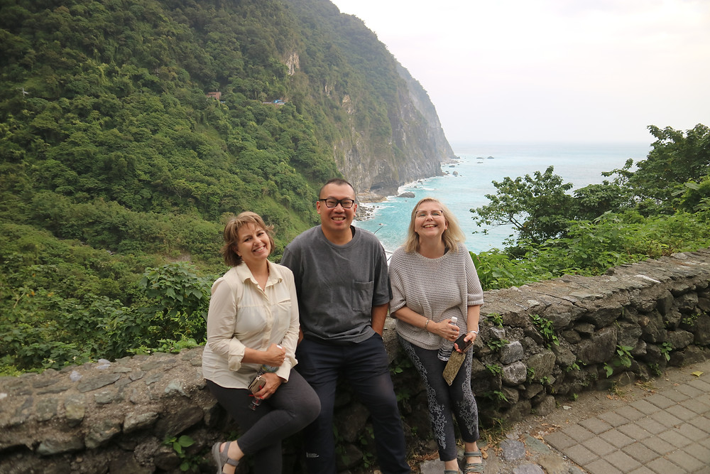 At Qingshui Cliffs, Taiwan