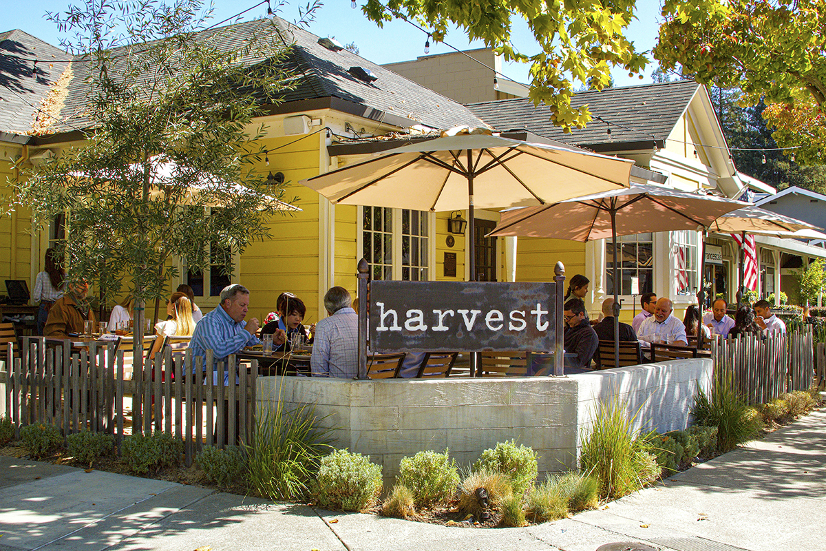 WEB Harvest - Front Patio