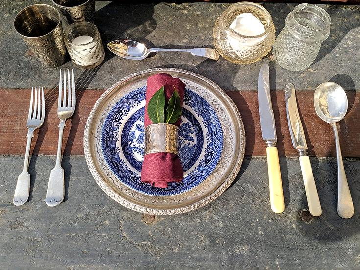 Fiddle Pattern Full Place setting