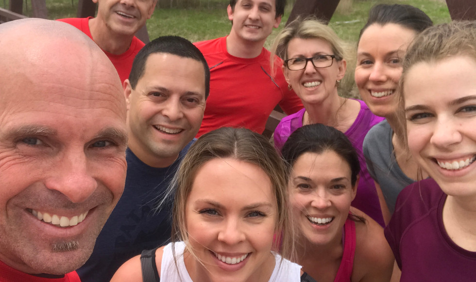 Outdoor corporate bootcamp