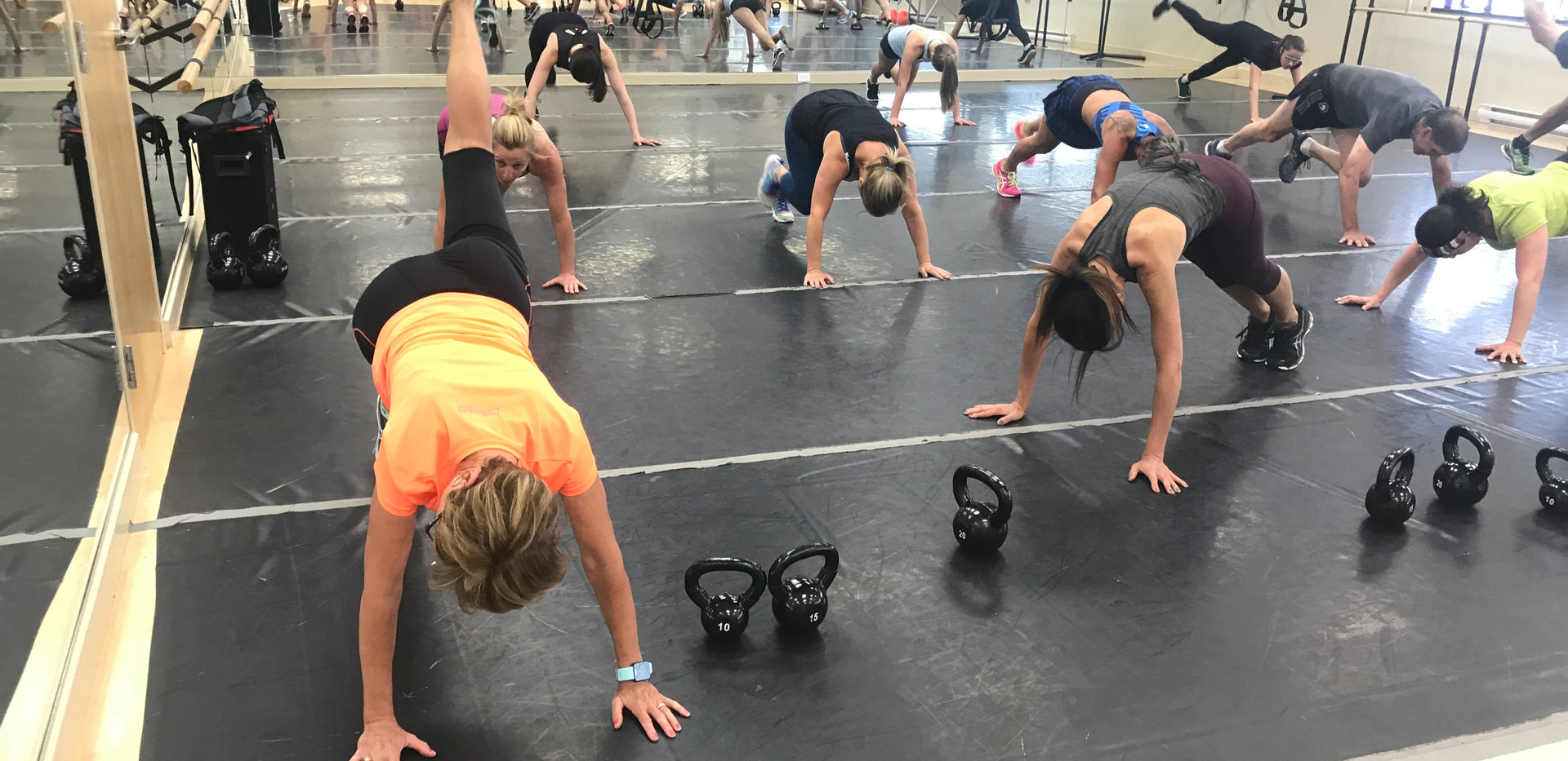 group fitness class 2
