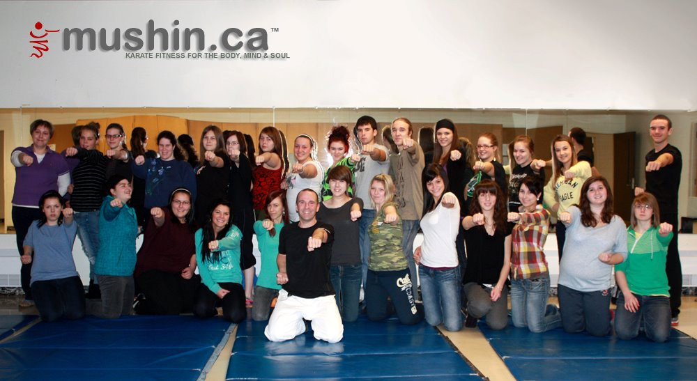 school self defense class