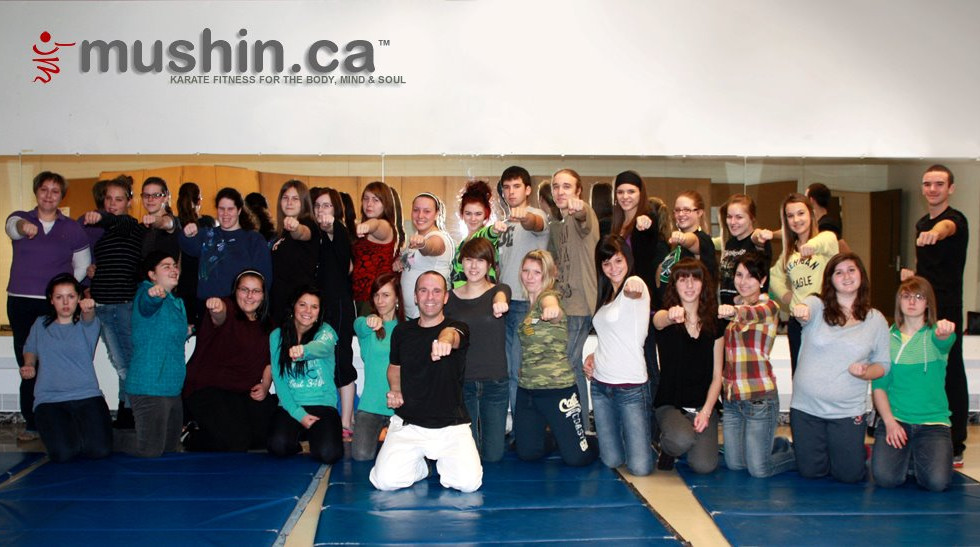 school self defense class