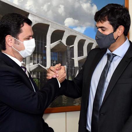 Rafael Prudente pede ao Ministro da Justiça a remoção de chefes do crime organizado de presídio-DF.
