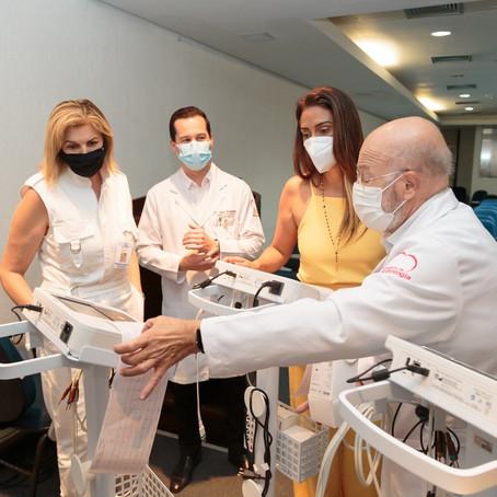 Entrega novos equipamentos para Instituto de Cardiologia do DF